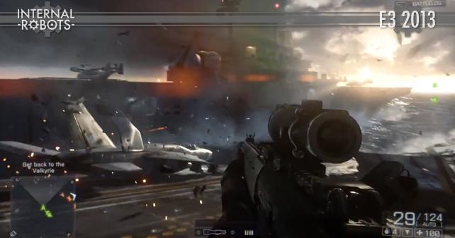 E3 2013: Battlefield 4 Gameplay