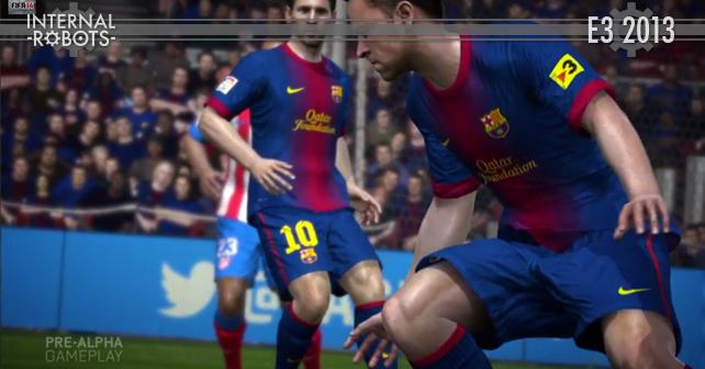 E3 2013: FIFA 14 Trailer