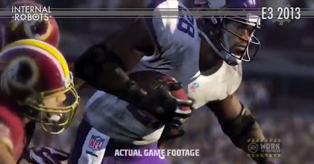 E3 2013: Madden NFL 25 Gameplay