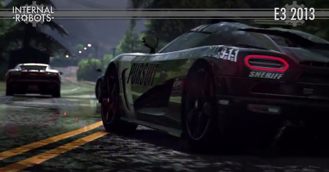 E3 2013: Need For Speed Rivals Trailer