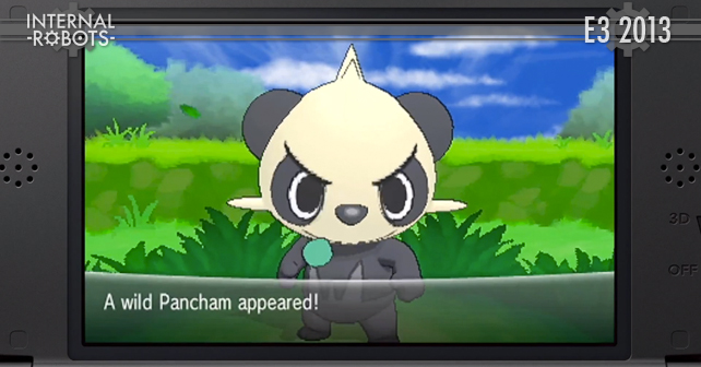E3 2013: Pokemon X & Y Gameplay