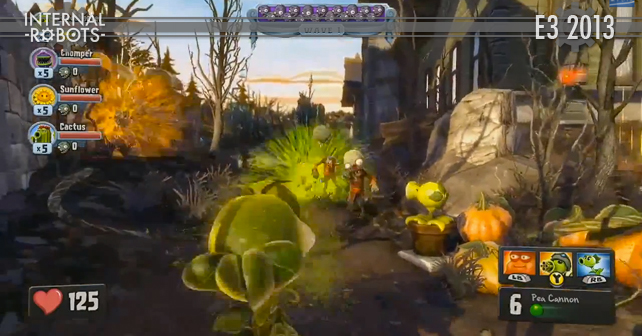 E3 2013: Plants vs. Zombies: Garden Warfare Gameplay