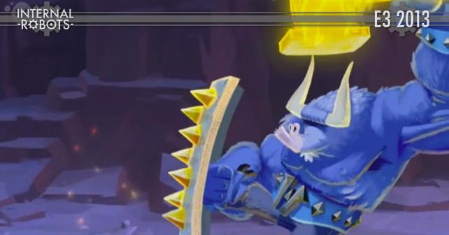 E3 2013: Rayman Legends Gameplay