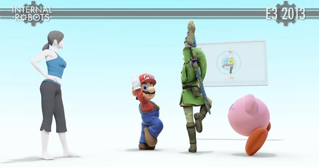 E3 2013: Super Smash Bros. Wii Fit Trainer Joins the Battle Trailer