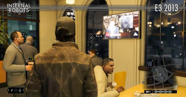E3 2013: Watch Dogs Gameplay