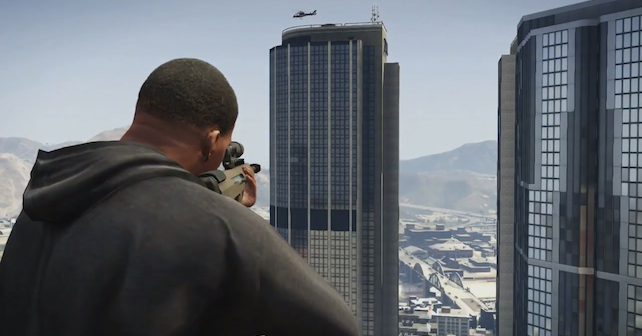 Grand Theft Auto V: Gameplay Trailer