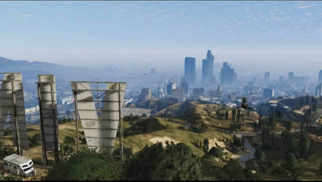 Grand Theft Auto V: The Official Trailer