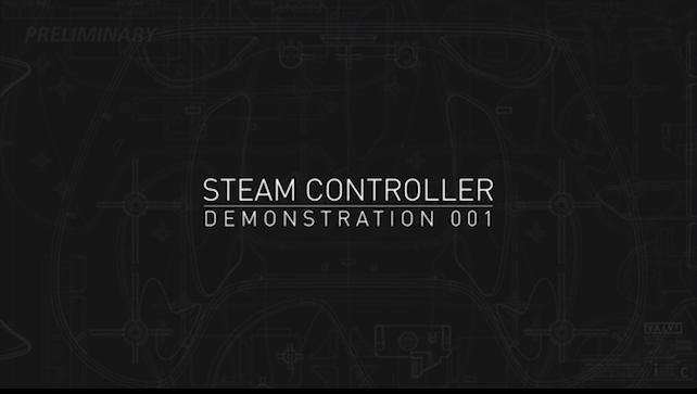 Valve's Steam Controller Demo