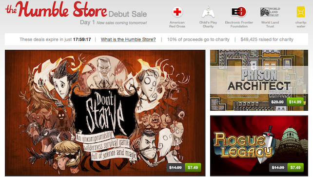 Humble Bundle Opens Store With Daily Deals